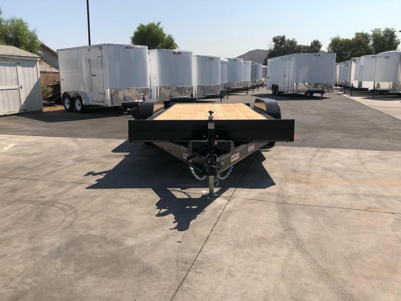 "2021 Innovative Trailer Mfg. 83"" x 18' 10K Tilt-Deck Flatbed Trailer"