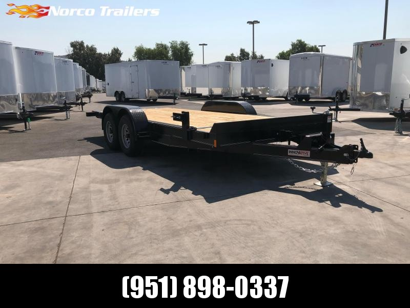 "2021 Innovative Trailer Mfg. 83"" x 18' 10K Tilt-Deck Flatbed Trailer"