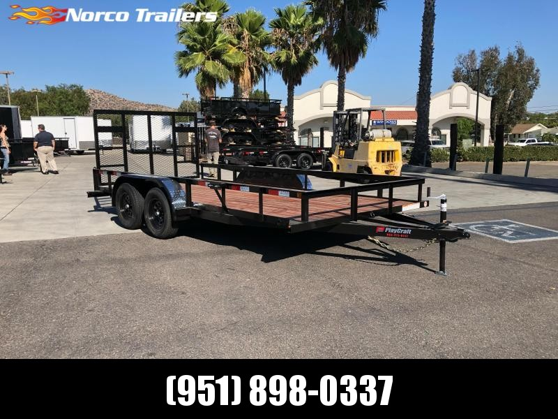 "2020 Sun Country 82"" x 16' Tandem Utility Trailer"