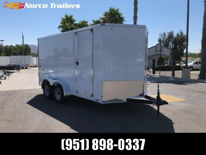 2021 Pace American 7' x 14; Tandem Axle Enclosed Cargo Trailer