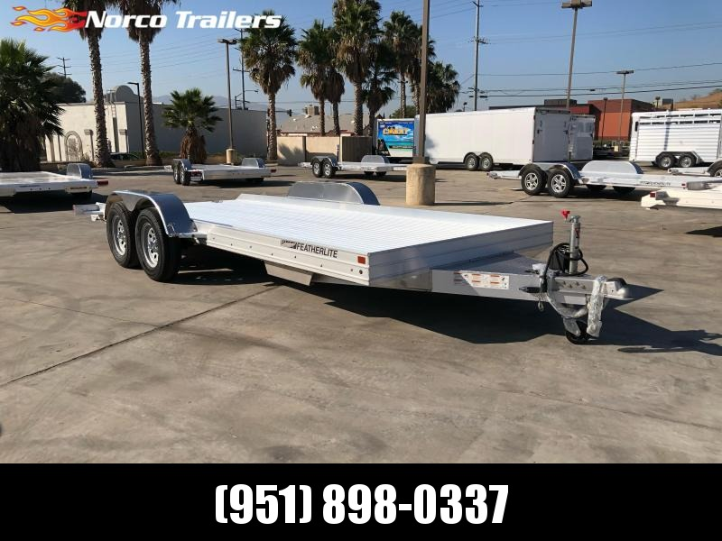 2021 Featherlite 3110 8.5' x 17.5' Flatbed Trailer