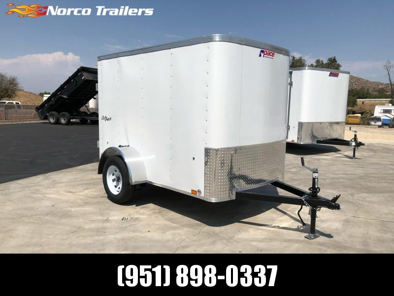 2022 Pace American Outback 5' x 8' Enclosed Cargo Trailer