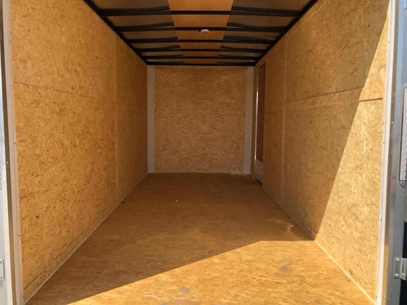 2021 Pace American Outback 7' x 16' Cargo / Enclosed Trailer