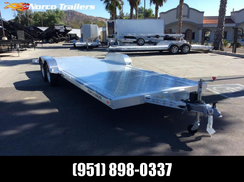 2020 Featherlite 3182 8.5' x 22' Tandem Axle Flatbed Trailer