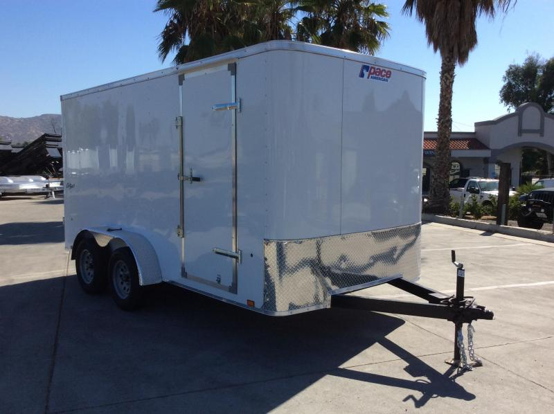 2022 Pace American Outback 7 x 14' Enclosed Cargo Trailer
