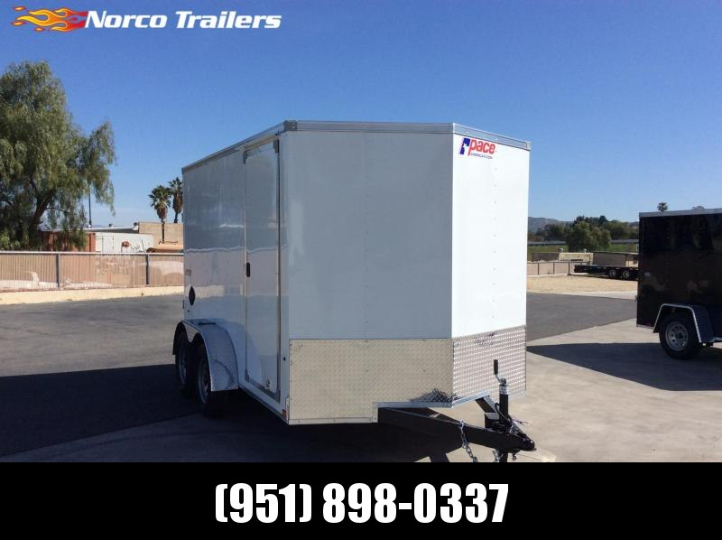 2022 Pace American Journey 7' x 12' Tandem Axle Enclosed Cargo Trailer