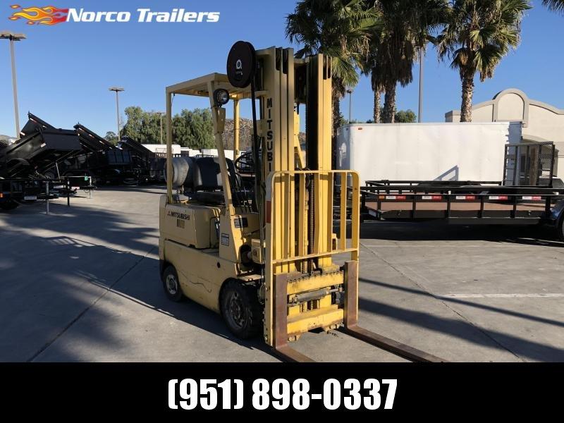 1984 Mitsubishi Forklift Material Handling