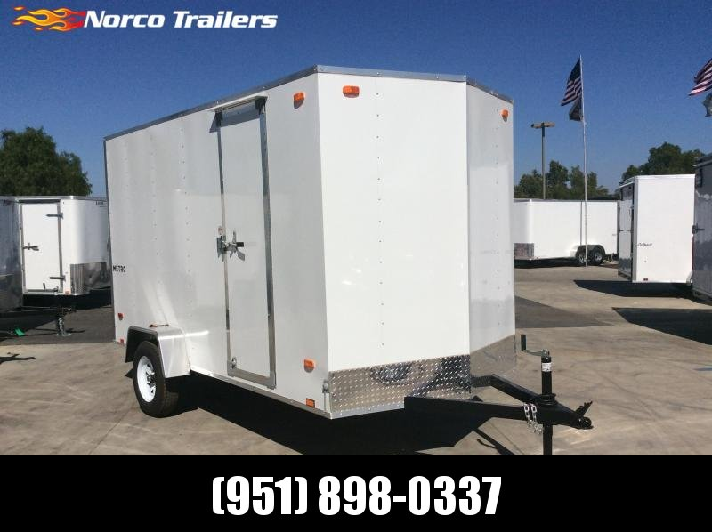 2021 Pace American Metro 6' x 12' Enclosed Cargo Trailer