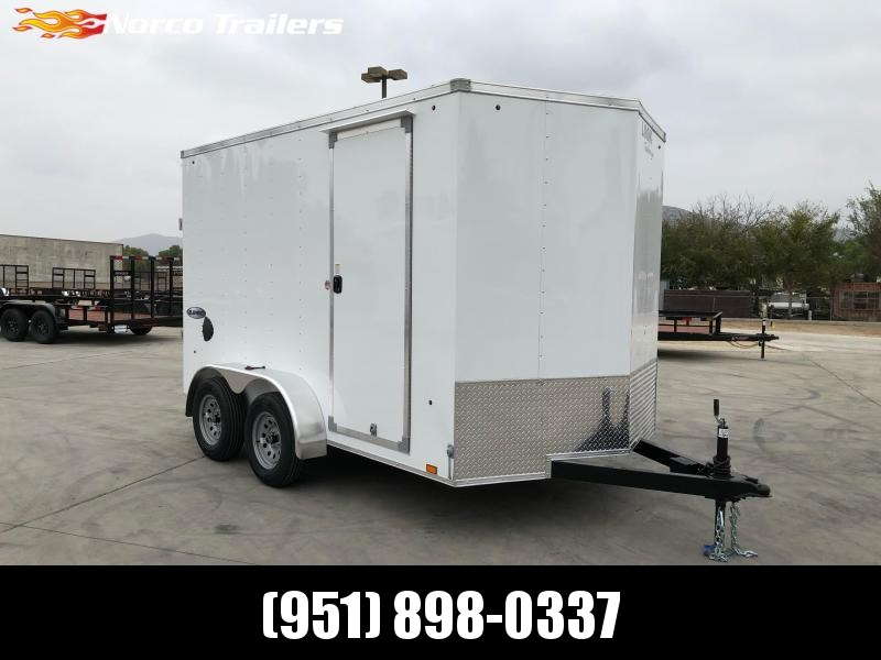 2021 Look Trailers Element 7' x 12' Tandem Axle Enclosed Cargo Trailer