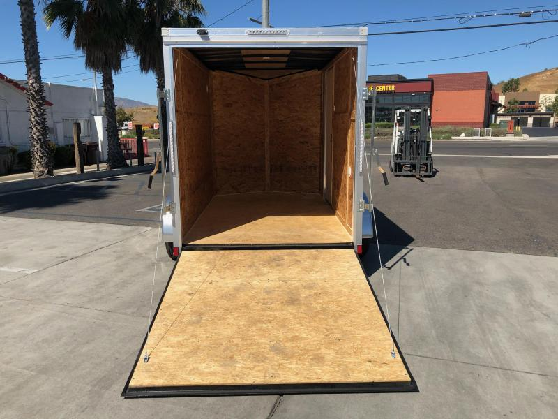 2021 Pace American Outback DLX 6' x 10' Enclosed Cargo Trailer