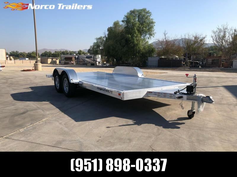 2021 Featherlite 3182 8.5' x 16' Flatbed Trailer