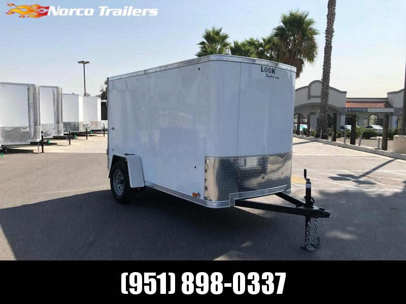 2021 Look Trailers STLC 5' x 10' Single Axle Enclosed Cargo Trailer