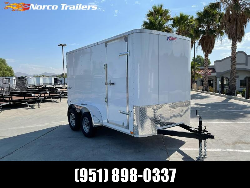 2022 Pace American Outback 6 x 12' Enclosed Cargo Trailer