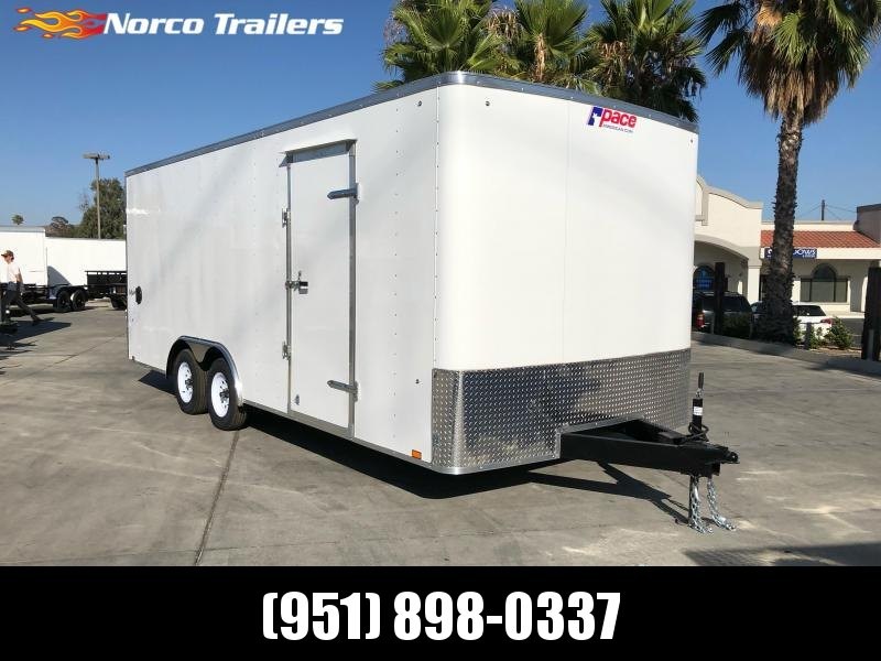 2020 Pace American Outback 8.5' x 20' Tandem Axle Car / Racing Trailer