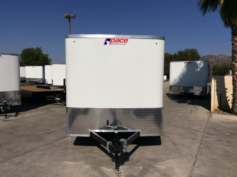 2021 Pace American Outback 7' x 12' Cargo / Enclosed Trailer