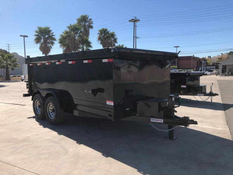 "2021 Innovative Trailer Mfg. 83"" x 14' 14K Dump Trailer"