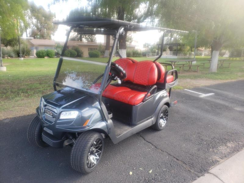 2022 Club Car Special Edition Lithium Onward 4-pass Golf Cart