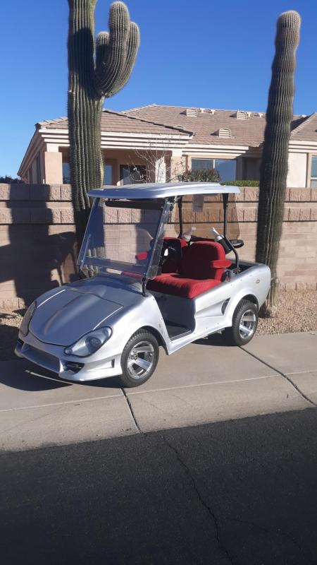 2010 Club Car Z-Sport Precedent Golf Cart