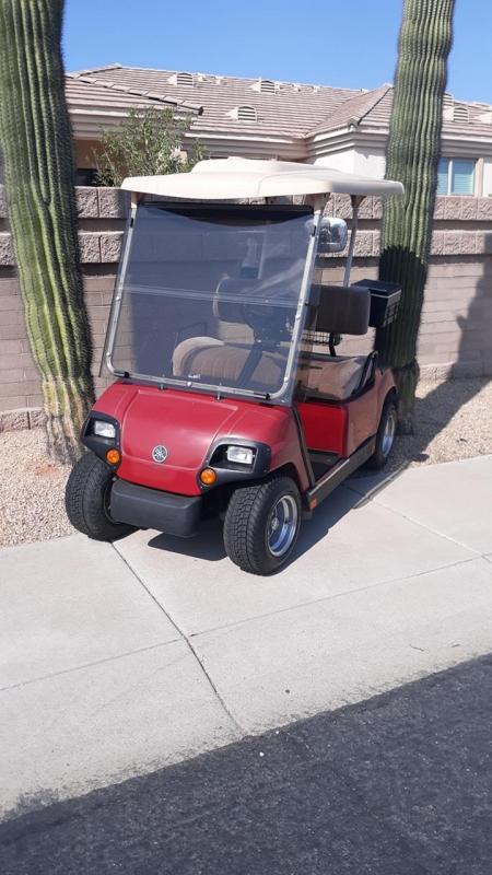 2007 Yamaha Golf Cart Golf Cart