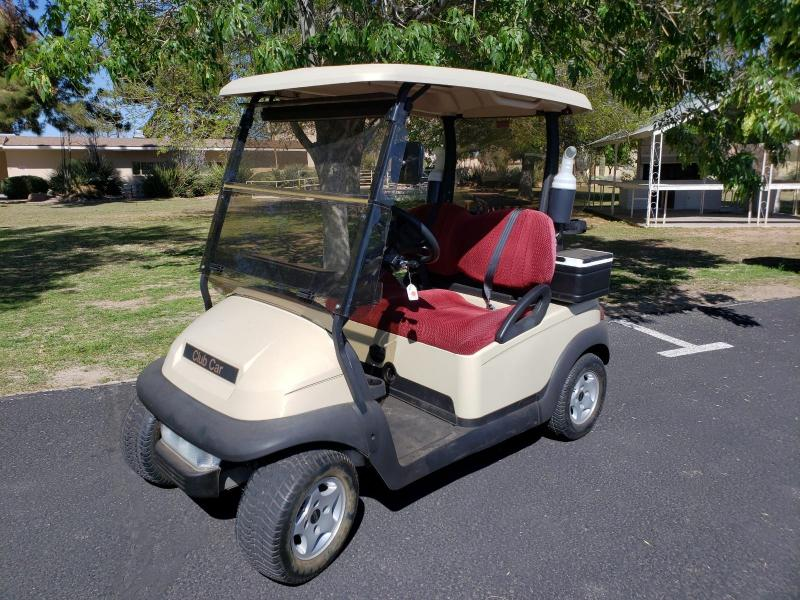 2009 Club Car Precedent Golf Cart