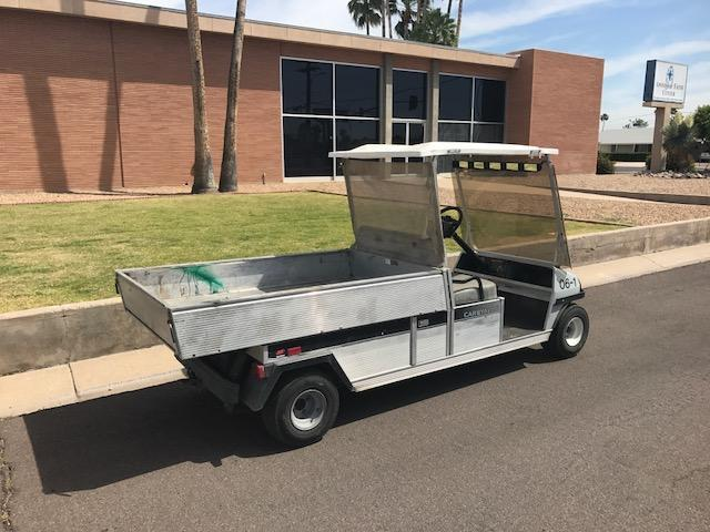 2006 Club Car Carryall 6 Cargo Box Scooter