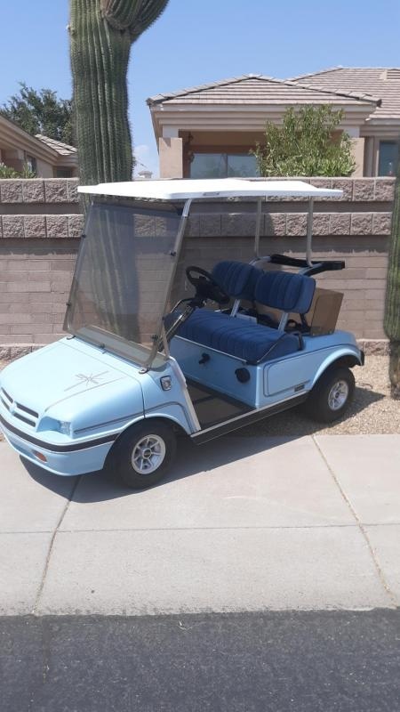 1994 Club Car DS Arizona Edition Trunk Golf Cart