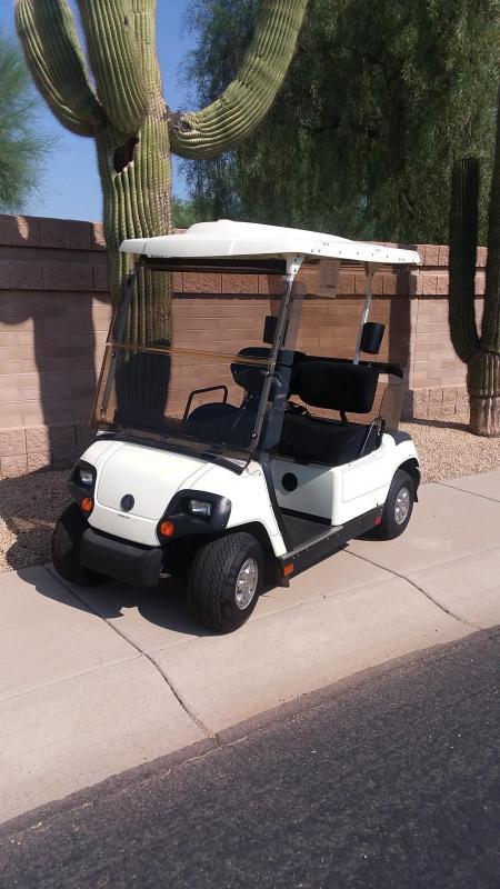 2006 Yamaha Electric Go Cart