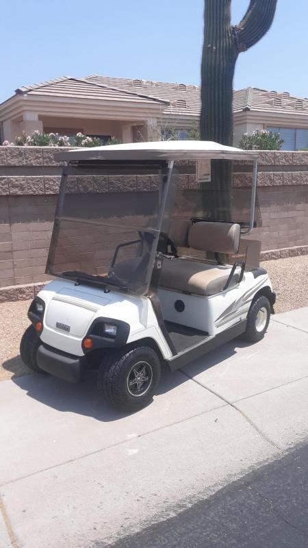 1997 Yamaha G19 Golf Cart
