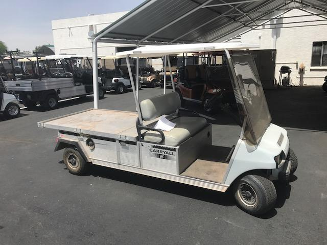 2007 Club Car Carryall 6 Flat Bed Utility Side-by-Side (UTV)