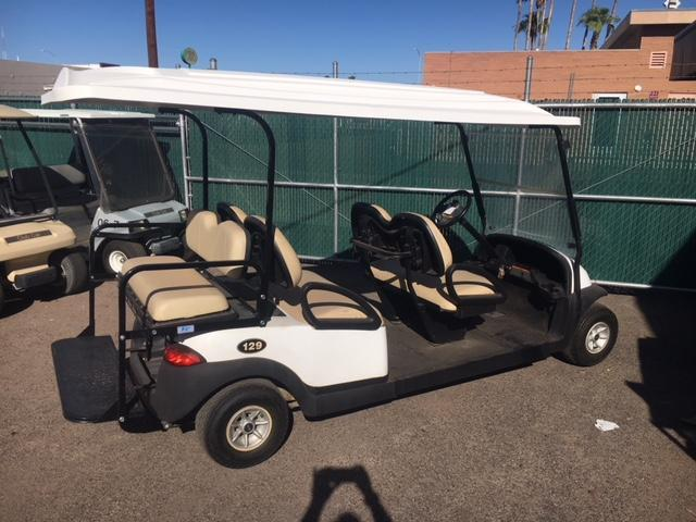 2011 Club Car Precedent 6-passenger flip Golf Cart