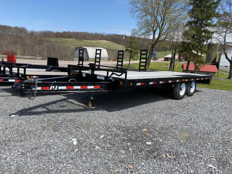 "2020 PJ Trailers 20' x 96"" Equipment Trailer"