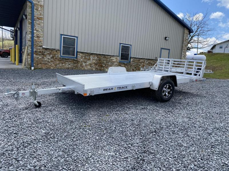 "2020 Bear Track 14' x 80"" HD Aluminum Single Axle Utility Trailer"