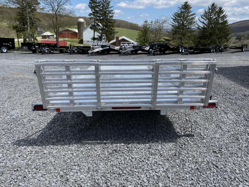 "2020 Bear Track 14' x 80"" HD Aluminum Single Axle Utility Trailer"