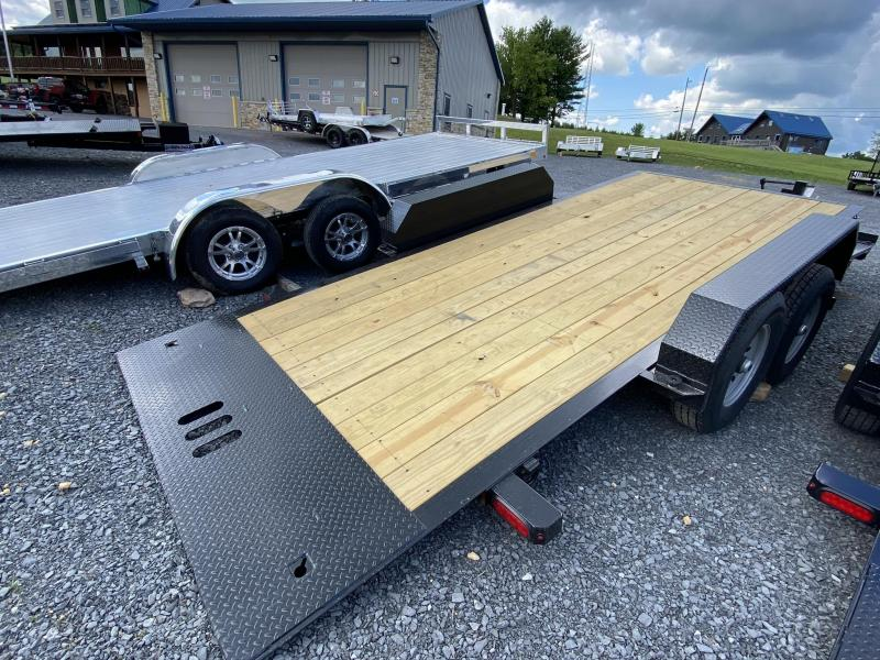 "2020 Cam Superline 21' x 83"" Equipment Split Deck Tilt Trailer"