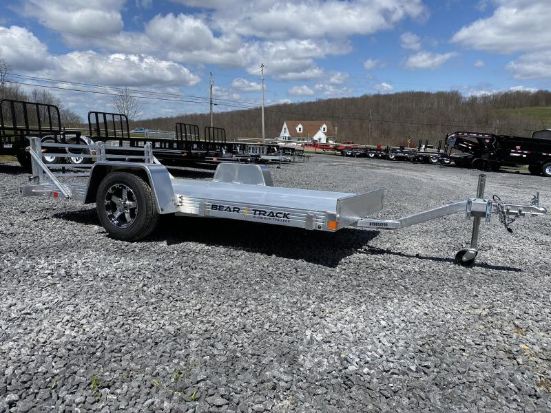 "2020 Bear Track 10' x 65"" Aluminum Single Axle Utility Trailer"