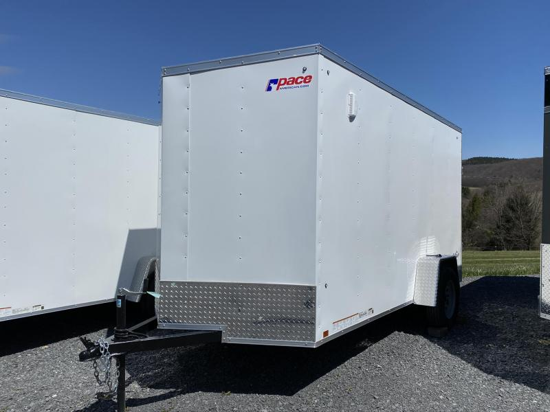 2020 Pace American 6' x 12' Outback DLX Enclosed Cargo Trailer