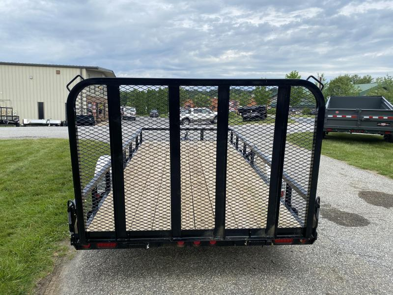 "2020 PJ Trailers 12'x83"" Single Axle Utility Trailer"