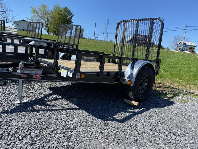 "2020 PJ Trailers 8' x 60"" Single Axle Utility Trailer"