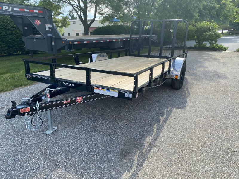 "2020 PJ Trailers 14'x83"" Single Axle Utility Trailer"