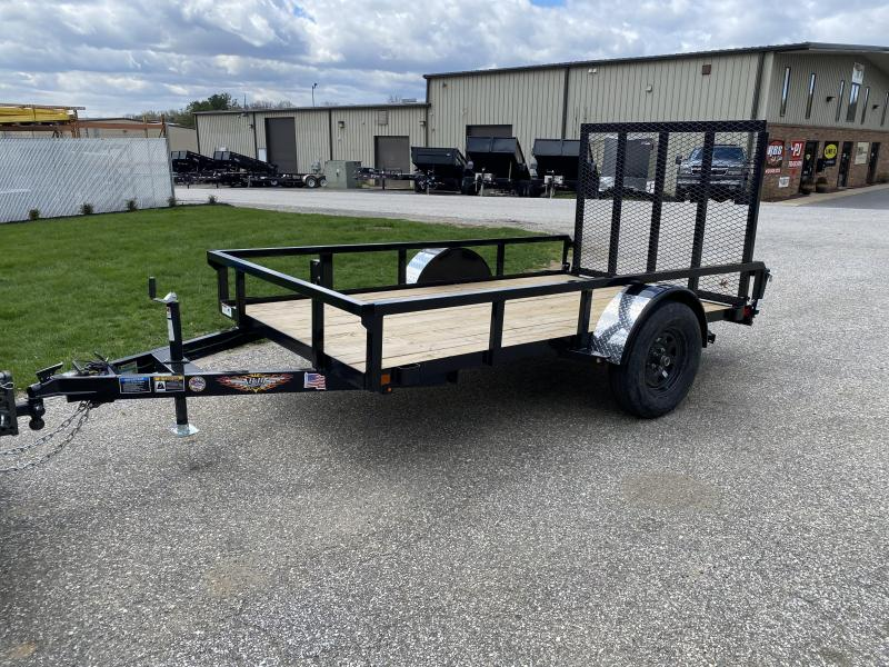 "2020 H and H 10' x 66"" Utility Trailer"