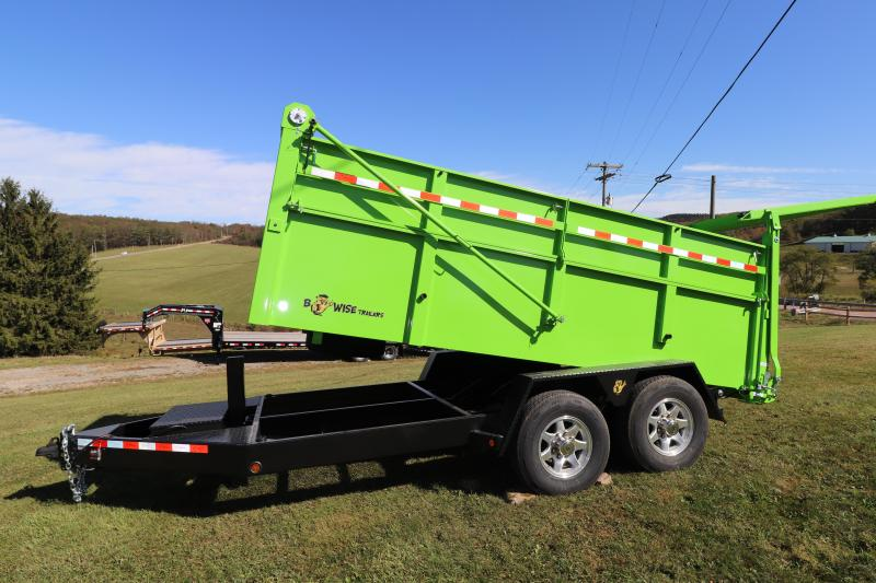 "2020 B-Wise 14' x 82"" Ultimate Dump Trailer"