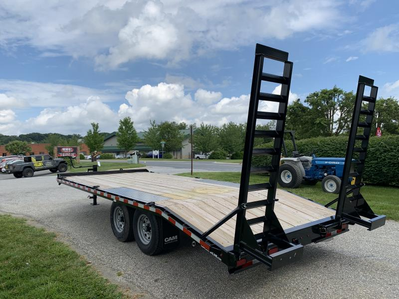 2020 Cam Superline 6 Ton 16'+4' Standard Duty Deckover Equipment Trailer