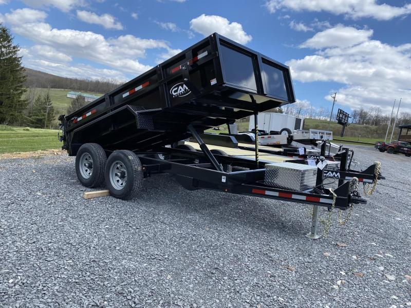 2020 Cam Superline 6' x 12' Low Profile Dump Trailer w/ Ramps