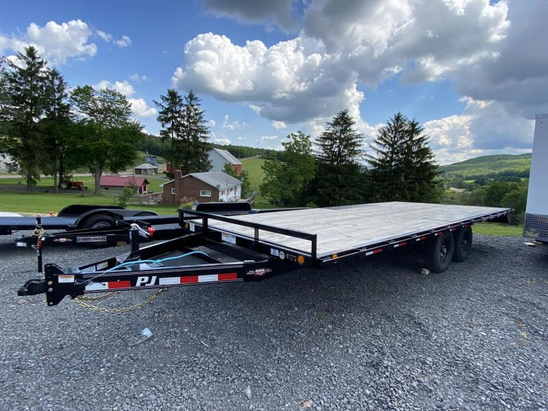 2020 PJ Trailers 20' Medium Duty Deckover Equipment Trailer