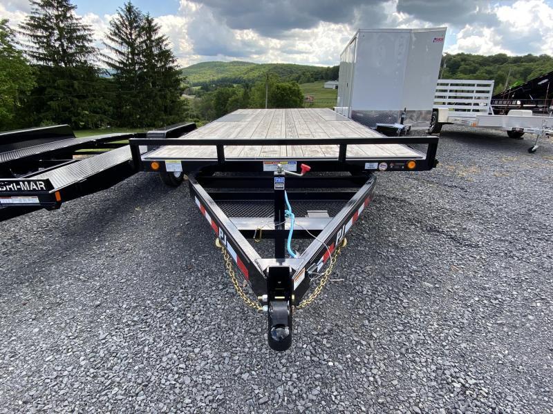 2020 PJ Trailers 20' Medium Duty Deckover Equipment Trailer