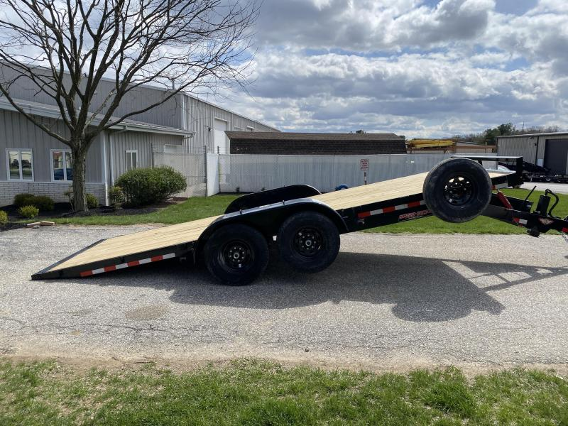 "2020 H and H 20' x 82"" 14k Manual Tilt Trailer"
