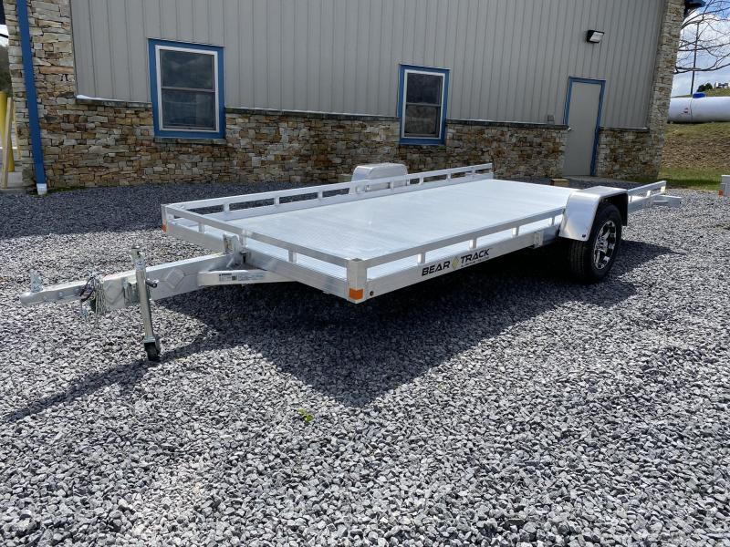 "2020 Bear Track 14.6' x 81"" Tilt Aluminum Single Axle Utility Trailer"
