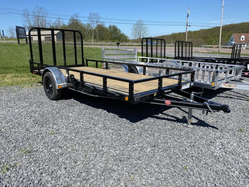 "2020 PJ Trailers 14' x 77"" Single Axle Utility Trailer"