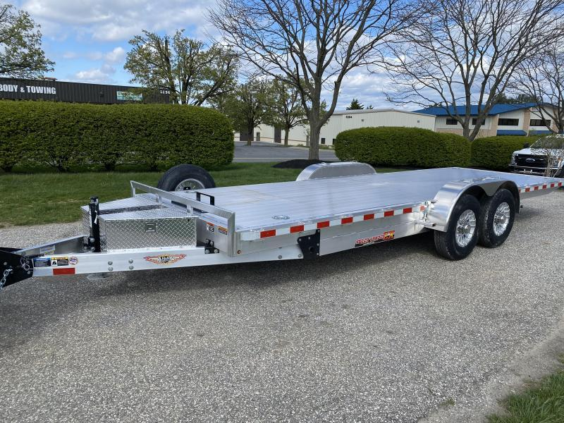 "2020 H and H 22' x 82"" All-Aluminum 14k Tilt Trailer"