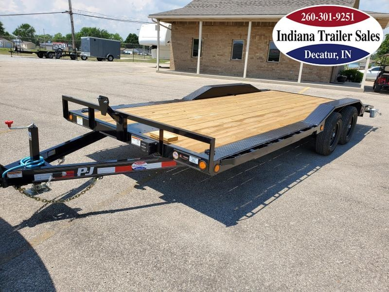 2021 PJ Trailers 102x20 B5202 Car / Racing Trailer